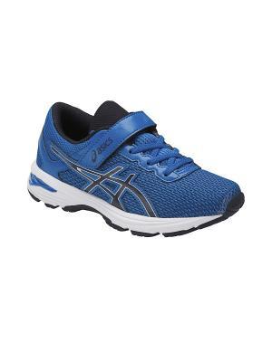 Кроссовки  GT-1000 6 PS ASICS. Цвет: голубой, серебристый, синий