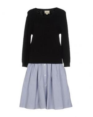 Платье до колена BOY BY BAND OF OUTSIDERS. Цвет: черный