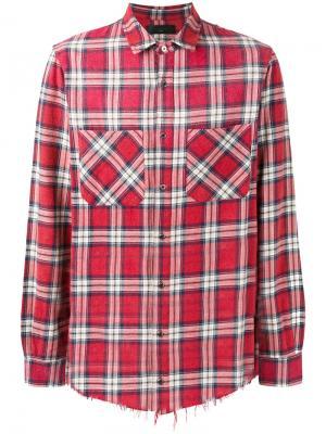 Checked shirt Amiri. Цвет: красный