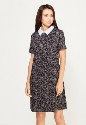 Платье Sela. Цвет: серый