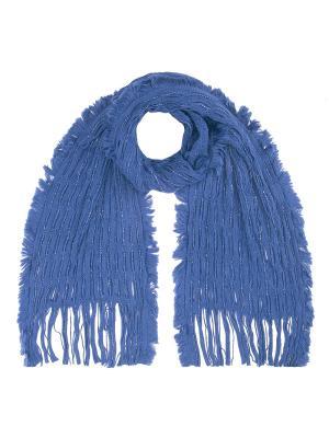 Шарф Vita pelle. Цвет: синий
