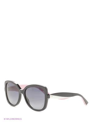 Солнцезащитные очки CHRISTIAN DIOR. Цвет: черный, розовый, белый