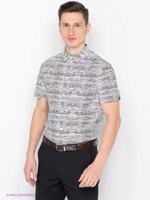Рубашка People. Цвет: белый, черный