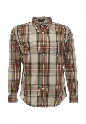 Рубашка Dockers. Цвет: хаки