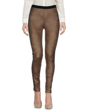 Повседневные брюки VIOLET ATOS LOMBARDINI. Цвет: хаки