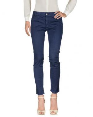 Повседневные брюки SWEET YEARS. Цвет: синий