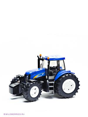 Трактор New Holland T8040 Bruder. Цвет: синий, черный