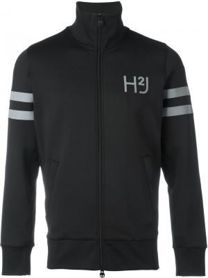 Куртка на молнии Hydrogen. Цвет: чёрный