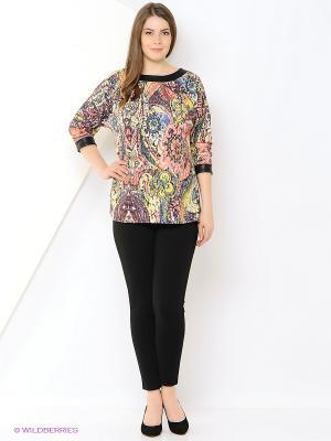 Туника Milana Style. Цвет: черный