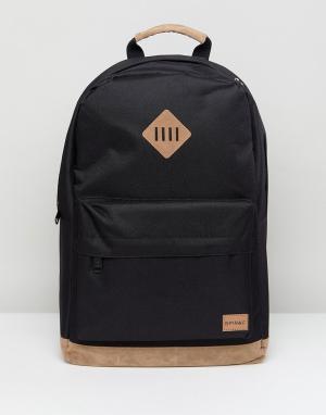 Spiral Черный рюкзак Classic. Цвет: черный