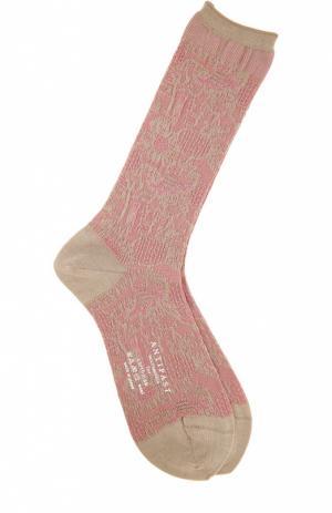 Носки Antipast. Цвет: бежевый