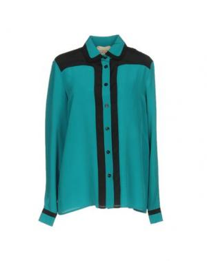 Pубашка GARAGE NOUVEAU. Цвет: бирюзовый