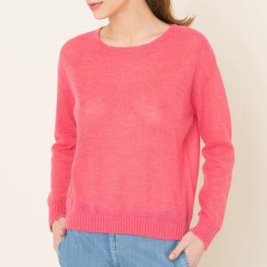 Пуловер с круглым вырезом NASH LEON and HARPER. Цвет: розовый