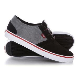 Кеды кроссовки низкие  Hesh Blmn Black/Midnight Circa. Цвет: черный,серый
