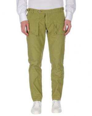 Повседневные брюки MOLO ELEVEN. Цвет: зеленый