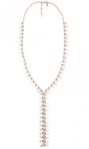 Ожерелье seadrop Natalie B Jewelry. Цвет: металлический серебряный