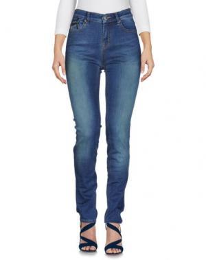 Джинсовые брюки BARBOUR. Цвет: синий