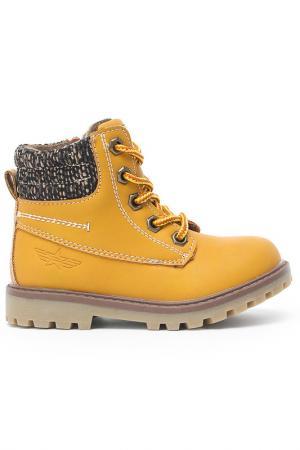 Ботинки INDIGO KIDS. Цвет: оранжевый
