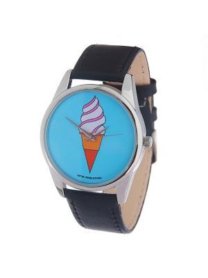 Часы Mitya Veselkov Мороженое. Цвет: синий