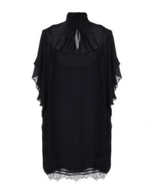 Короткое платье TAMARA MELLON. Цвет: черный