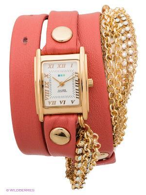 Часы La Mer Collections. Цвет: коралловый