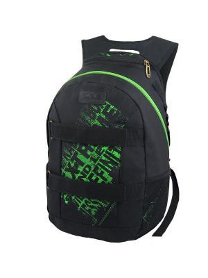 Рюкзак Stelz. Цвет: зеленый, черный