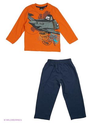 Пижама Planes. Цвет: оранжевый