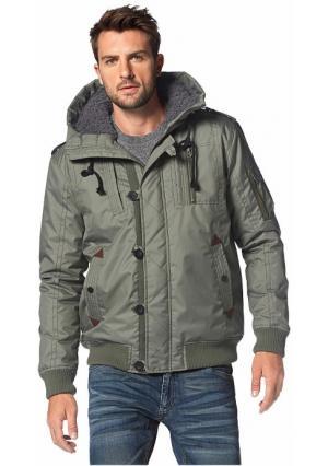Куртка JOHN DEVIN. Цвет: хаки