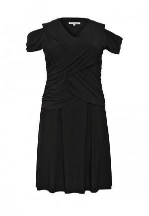 Платье Contraposto. Цвет: черный