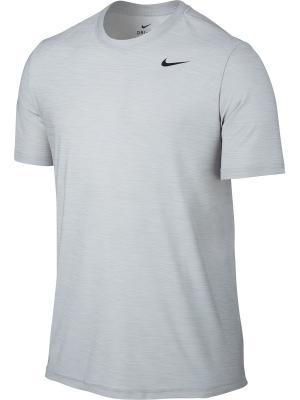 Футболка M NK BRT TOP SS DRY Nike. Цвет: белый