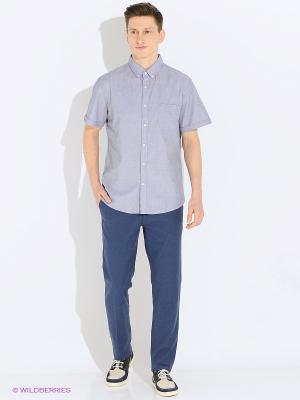 Рубашка SELA. Цвет: серый