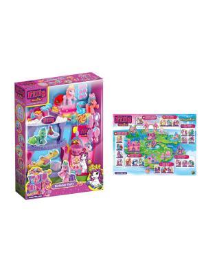 Игровой набор Королевские Filly  День рождения Dracco. Цвет: розовый