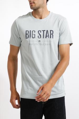 Футболка BIG STAR. Цвет: grey blue