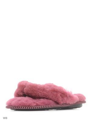 Тапочки Mon Ami. Цвет: розовый