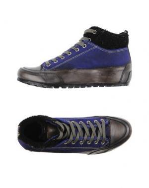 Высокие кеды и кроссовки CANDICE COOPER. Цвет: ярко-синий