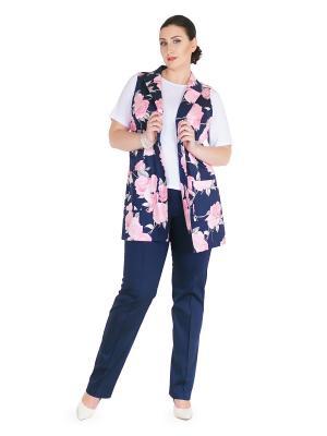 Брюки Darissa Fashion. Цвет: темно-синий