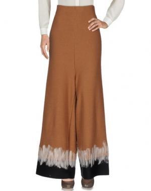 Повседневные брюки EYS. Цвет: коричневый