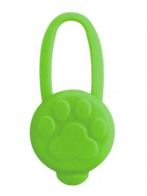 Светодиодный брелок силиконовый, 66x32мм. TRIOL. Цвет: зеленый