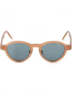 Солнцезащитные очки Versilla Retrosuperfuture. Цвет: телесный