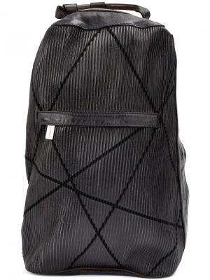 Текстурированный рюкзак Numero 10. Цвет: чёрный