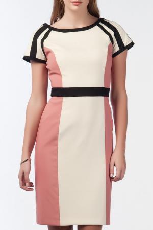 Платье NARAMAXX. Цвет: бежевый
