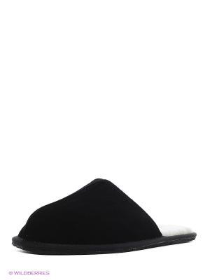 Тапочки Pegia. Цвет: черный