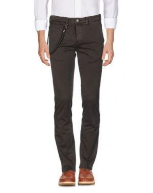 Повседневные брюки TRAMAROSSA. Цвет: хаки