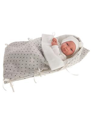 Кукла-младенец Габриэль, 42 см. Antonio Juan. Цвет: бледно-розовый
