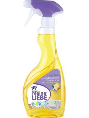 Универсальный спрей для кухонных поверхностей, 500мл MEINE LIEBE. Цвет: желтый