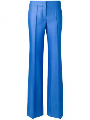 Строгие брюки Emilio Pucci. Цвет: синий
