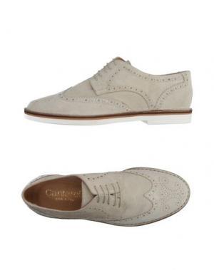 Обувь на шнурках CANTARELLI. Цвет: светло-серый