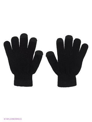 Перчатки GREZZO. Цвет: черный