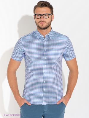 Рубашка Alfred Muller. Цвет: голубой