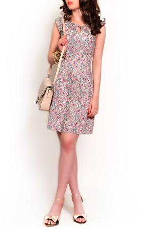 Платье MONT PELLIER. Цвет: бежевый